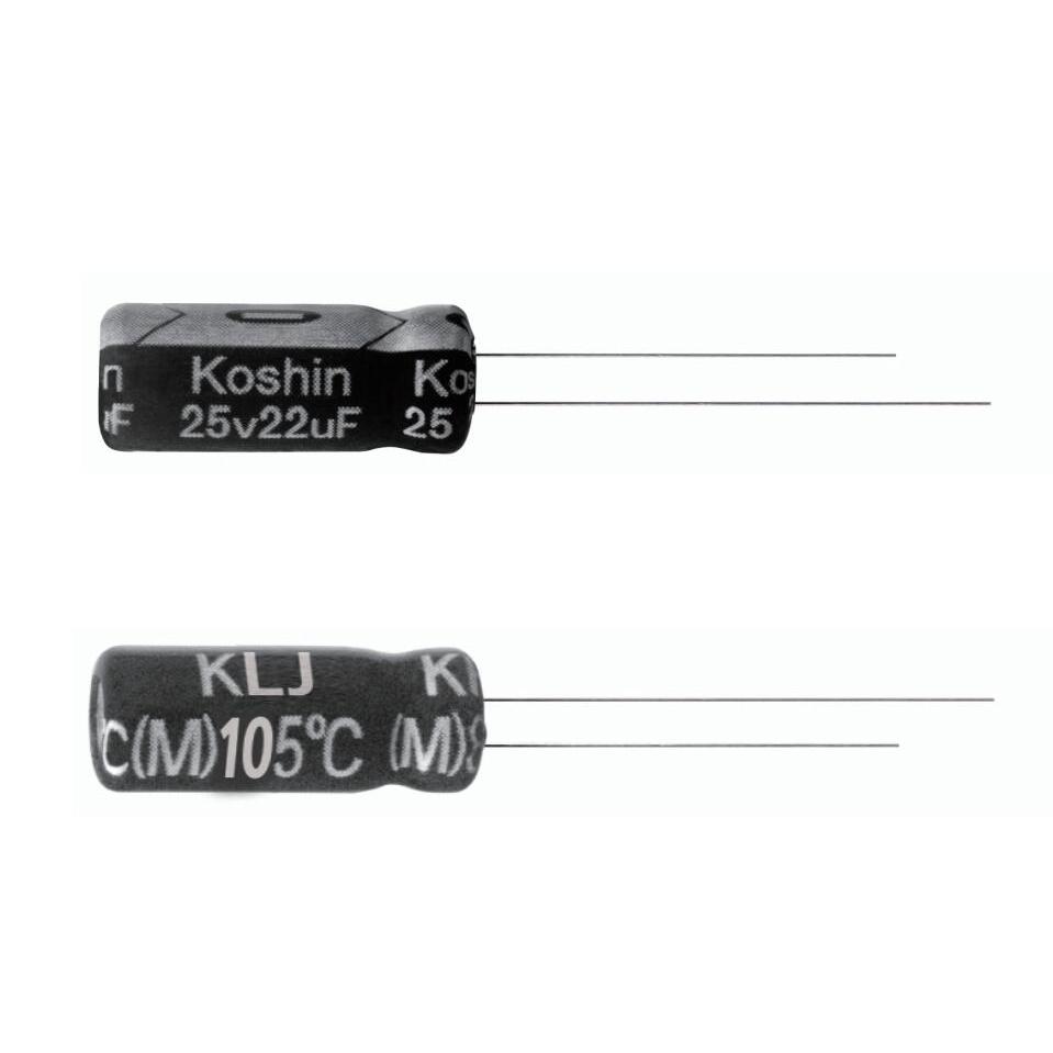 Capacitor Aluminium Electrolytic Capacitor Radial Lead